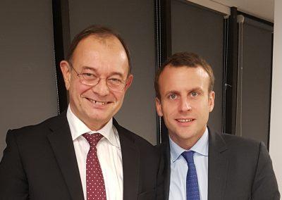 avec E. Macron